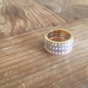 Bundle of Nadri rings 🌺 NWOT🌺